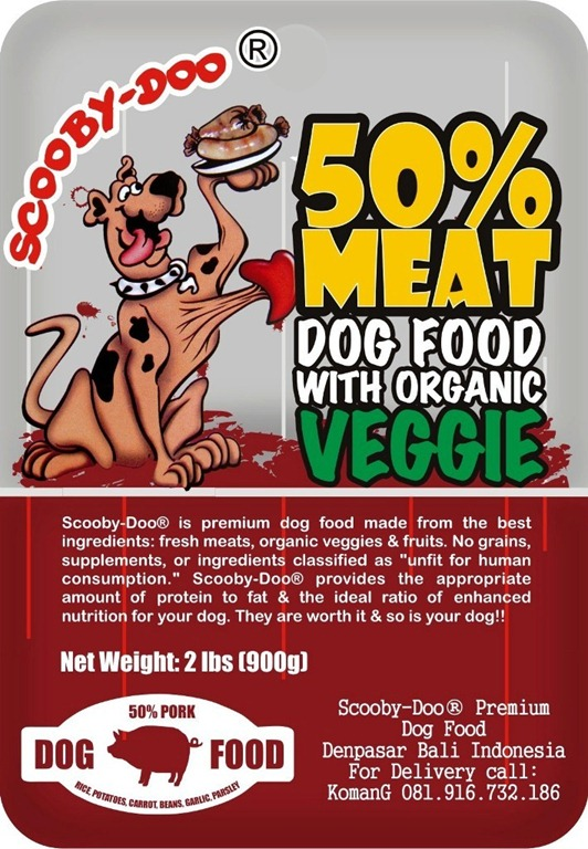 Dog Food Unfit For Human Consumption